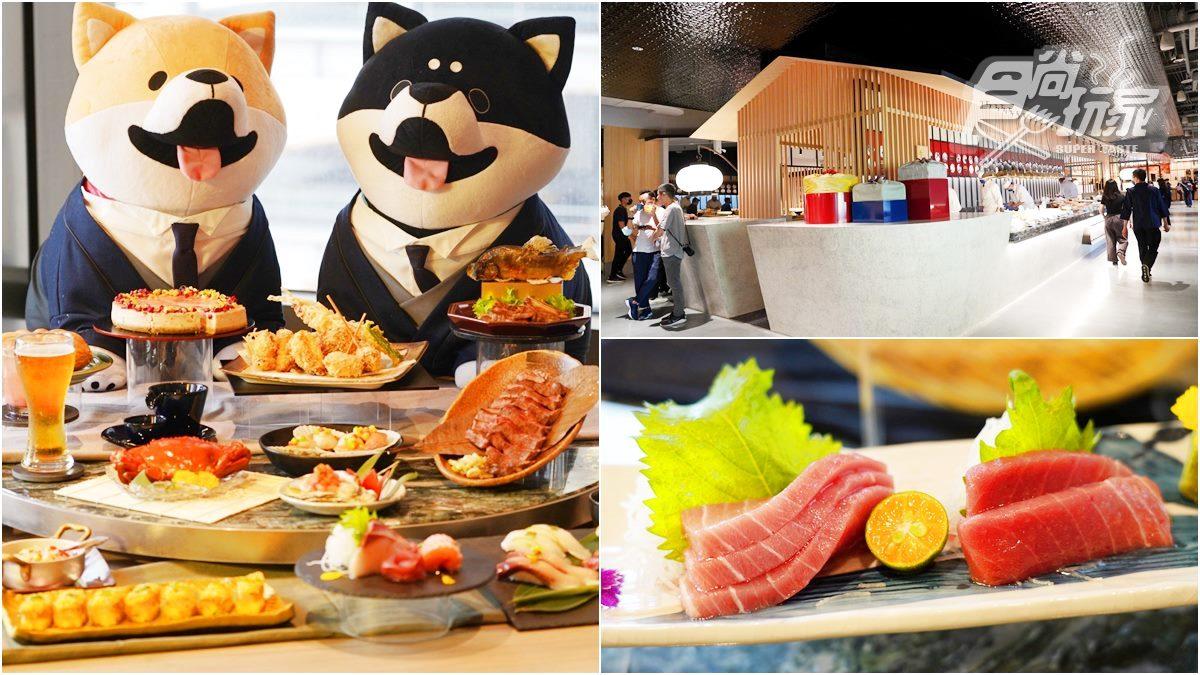 【新開店】連續16天黑鮪魚吃到飽!日式頂級Buffet「旭集」到高雄,獨