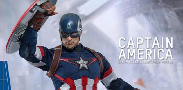 Chris Evans visita hospital infantil vestido de Capitão América