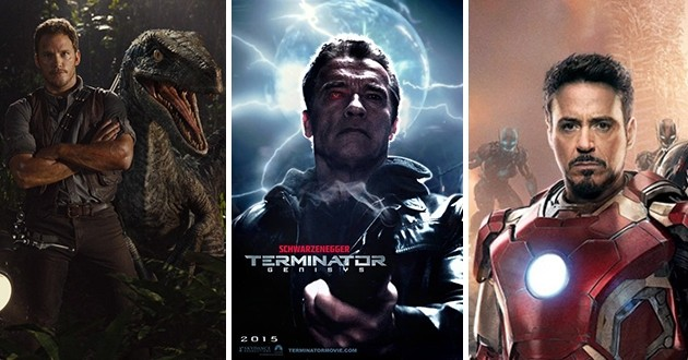 Super Bowl: Jurassic World e Terminator estão entre os trailers divulgados