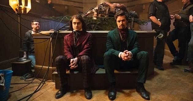 Frankenstein: Veja James McAvoy e Daniel Radcliff em nova imagem
