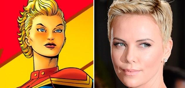 Capitã Marvel: Charlize Theron pode protagonizar heroína na adaptação