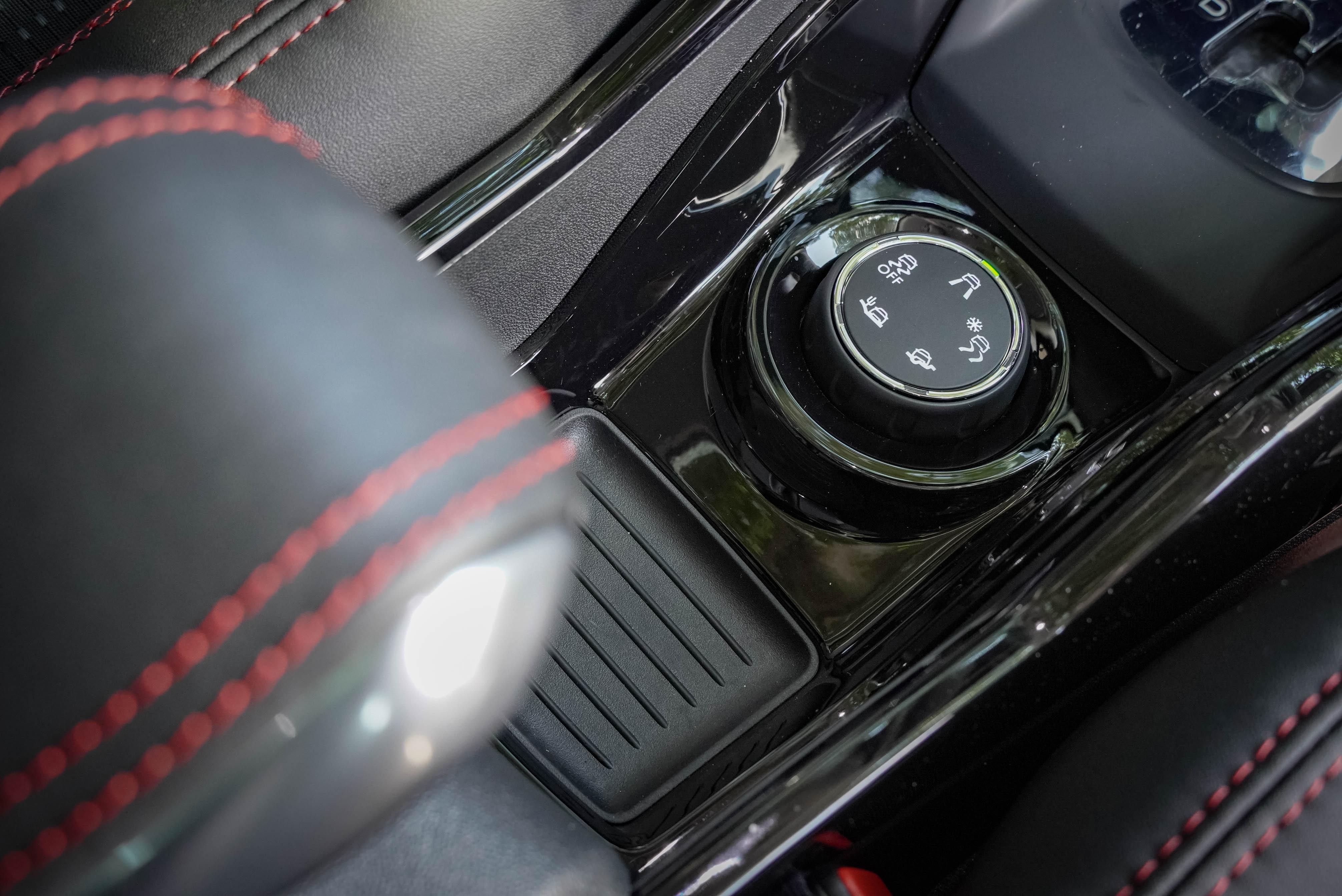 2008 特仕版標配 Grip Control 抓地力控制系統。