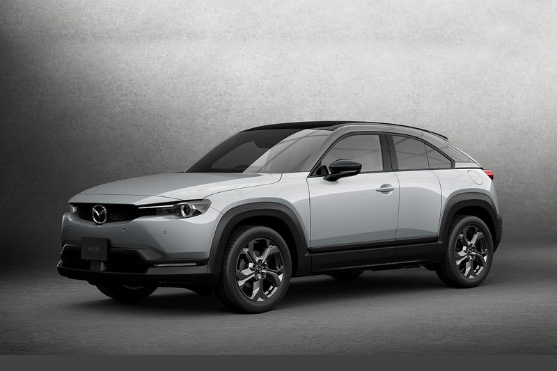 Mazda於2019年推出MX-30電動車,但行駛里程僅有210公里。