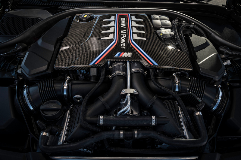 M5 CS最大馬力提升至635匹。