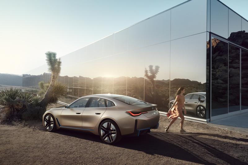 外媒報導BMW會基於i4車型推出i4 M。