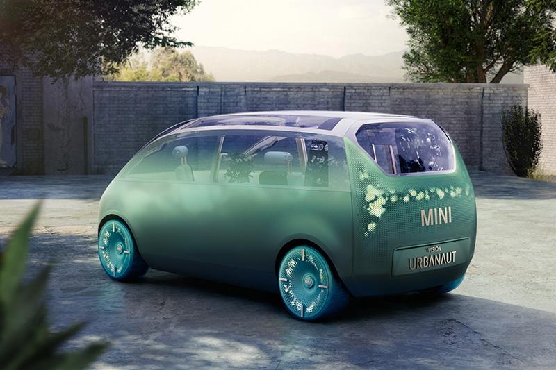 造型設計上其實不是重點,畢竟Mini Vision Urbanaut本身為的是服務寬敞舒適的車室。