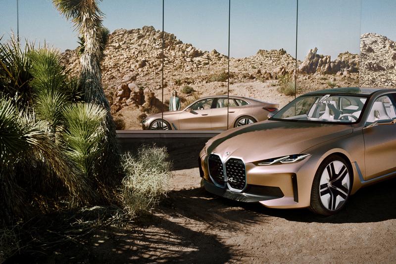BMW i4於3月展出概念車,並且預告將於2021年進行量產。