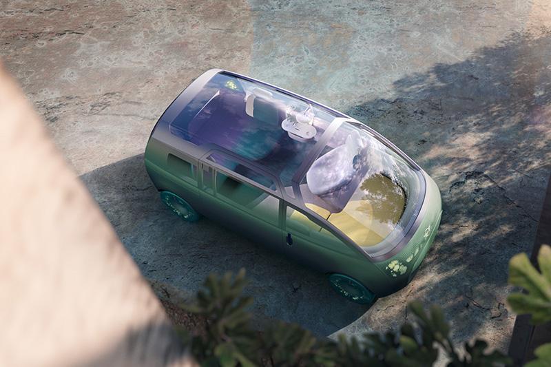 Mini Vision Urbanaut其實不Mini,車長已設定將近4.5米。