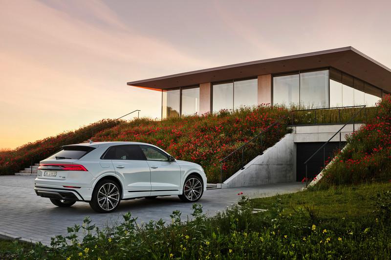 Audi替Q8增加55 TFSI e與60 TFSI e插電式油電車型。