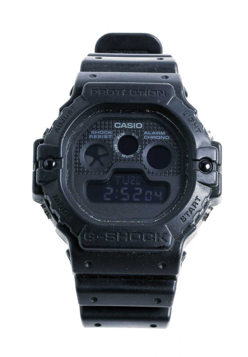 AES × CASIO G-SHOCK10周年聯名錶/5,200元(攝影/戴世平)
