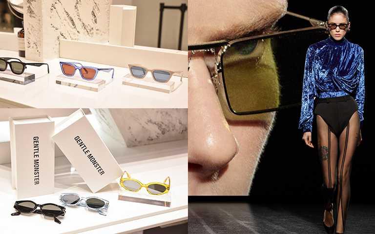 智慧眼鏡系列Eyewear Smart II,其中率先在台灣問世的3款光學鏡和2款太陽鏡,即日起正式開賣,售價NT13,320。(圖/GENTLE MONSTER提供)