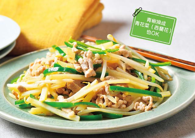 低FODMAP菜單食譜:蔬菜炒肉絲