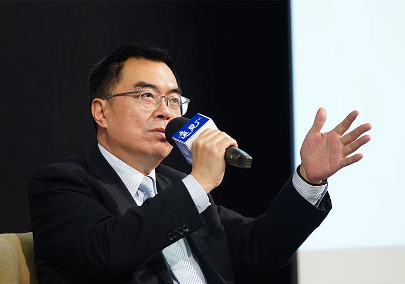 國泰投信總經理張雍川。
