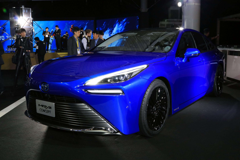 東京車展 強化走行質感與魅力的新能源車 Toyota Mirai Concept