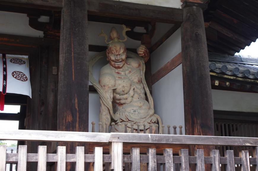 法隆寺中門仁王像