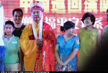 Từ Thiếu Hoa đã khác rất nhiều so với nhân vật Đường Tăng mà ông thủ vai trong Tây Du Ký.