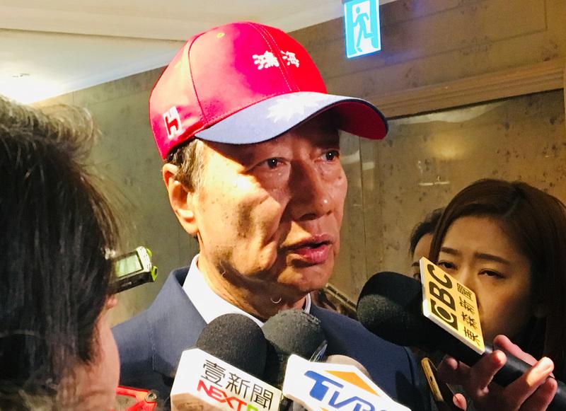 如果郭台銘參選總統,您看好嗎?