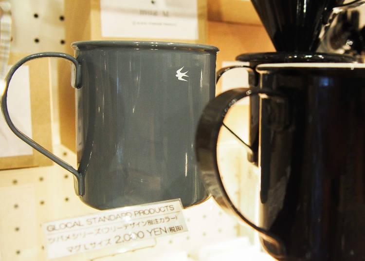 日本品牌GLOCAL STANDARD PRODUCTS,馬克杯限定灰色款是其他地方沒有的喔,2000日圓