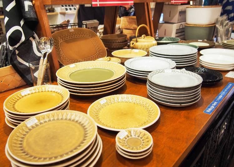 北歐市集上還有來自丹麥設計師Jens H.Quistgaard的復古風餐具