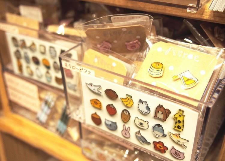 可愛造型耳針,依款式約600日圓