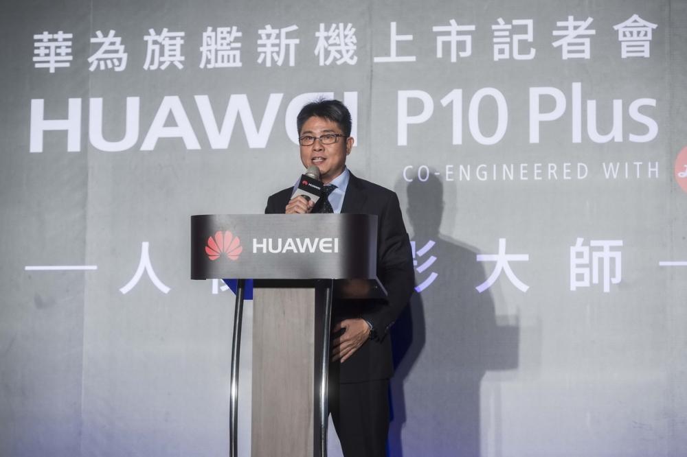 華為技術台灣總代理訊崴技術無線終端產品部 總經理 曹紋察