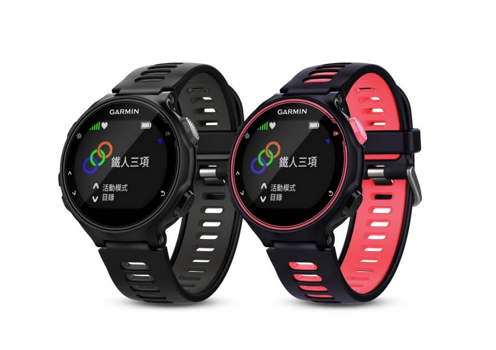 Garmin首支專為複合式運動設計的輕量化錶款Forerunner 735XT,全天候心率監測及智慧提示功能,精準紀錄進階跑步動態資訊