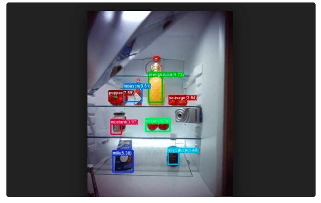 微軟和Liebherr 合作開發智能冰箱,用深度學習算法識別冰箱食物