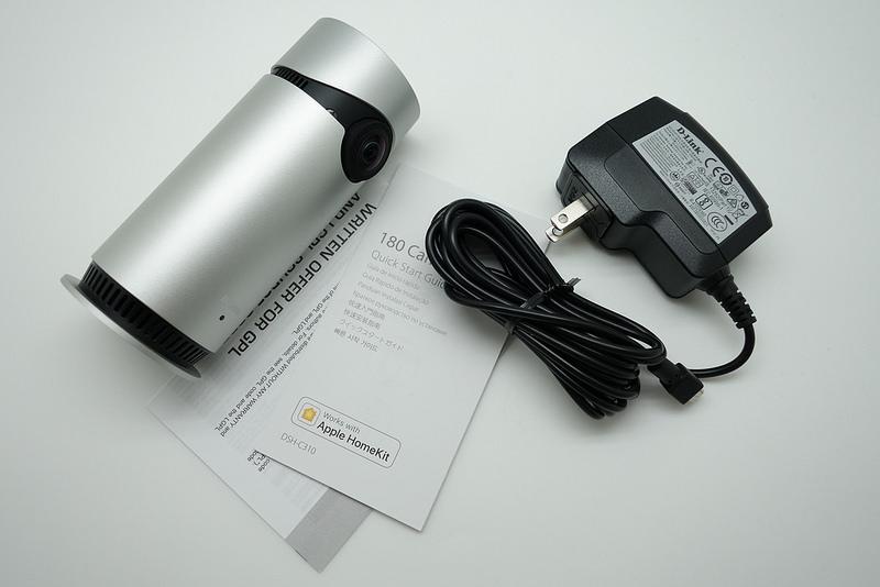 Apple Homekit認證!D-Link Omna 180網路攝影機開箱