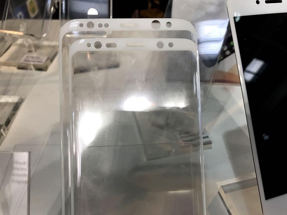 三星 Galaxy S8/S8 Plus 保護貼現身 MWC 會場!