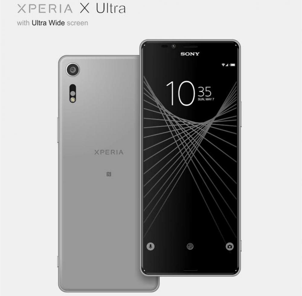 21:9比例螢幕?Sony Xperia X Ultra外型曝光