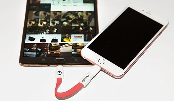iPhone沒電怎麼辦? 這條充電線能向Android借電