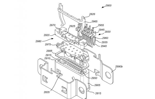 ▲ 充電盒的防水設計。(Source:USPTO)