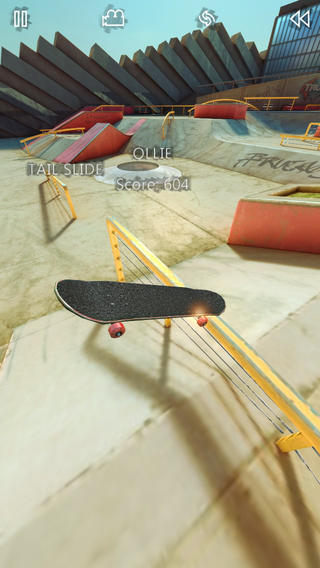 True Skate 乘風奔馳~暢快隨心的滑板遊戲,app說明由三嘻行動哇@Dr.愛瘋所提供