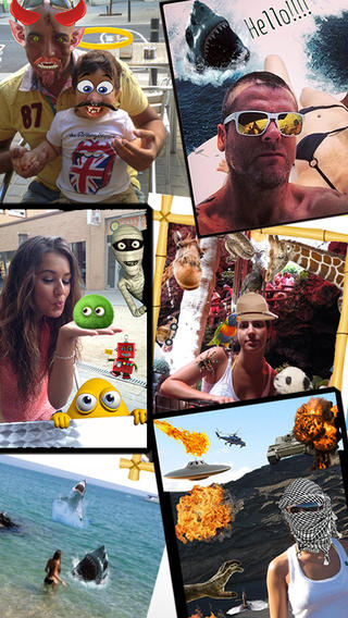 PhotoLoco 拉風、奇趣的相片編輯軟體,app說明由三嘻行動哇@Dr.愛瘋所提供