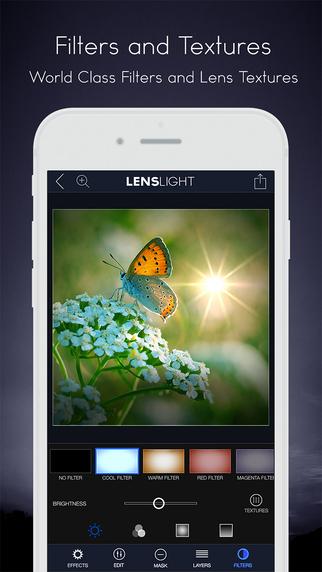 LensLight Visual Effects 相片光源特效後製軟體,app說明由三嘻行動哇@Dr.愛瘋所提供