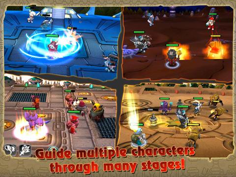 Mystical Gem HD 神秘寶石RPG遊戲 iPad 版,app說明由三嘻行動哇@Dr.愛瘋所提供