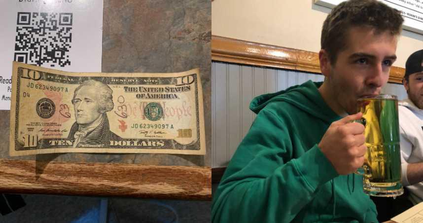 等不到成年!癌末父親留10元美金 讓兒子成年時買「人生第一杯啤酒」慶賀