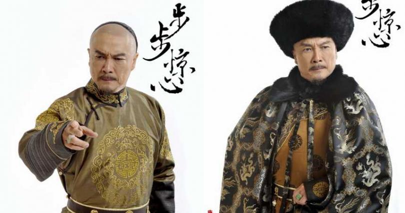 劉松仁演出康熙皇帝,讓人印象深刻。(圖/電視劇步步驚心微博)