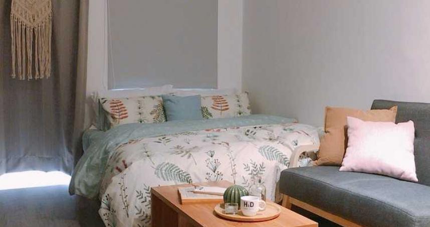 去年新北市傳出民眾合資買下一整棟公寓,做為學習包租公、包租婆的實習場域。現已布置裝潢並完成招租。(圖/好租123物業管理提供)