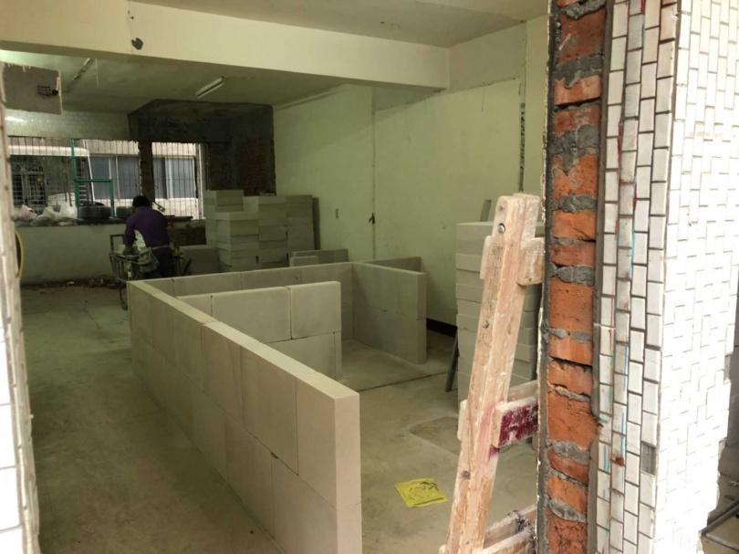 新北市永和區一整棟五層樓的公寓易主後,大規模翻修及重新隔間。(圖/好租123物業管理提供)