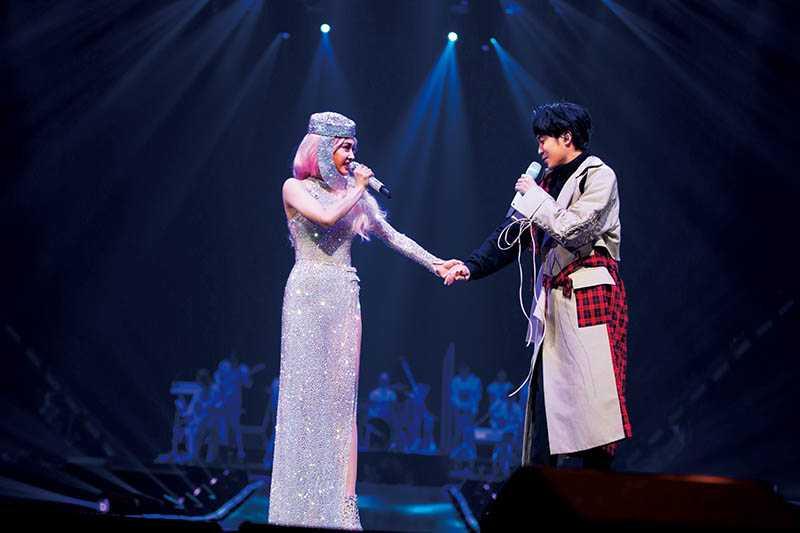 經常受邀擔任演唱會嘉賓的青峰,與蔡依林許多天后級歌手都是超級好朋友。(圖/凌時差提供)
