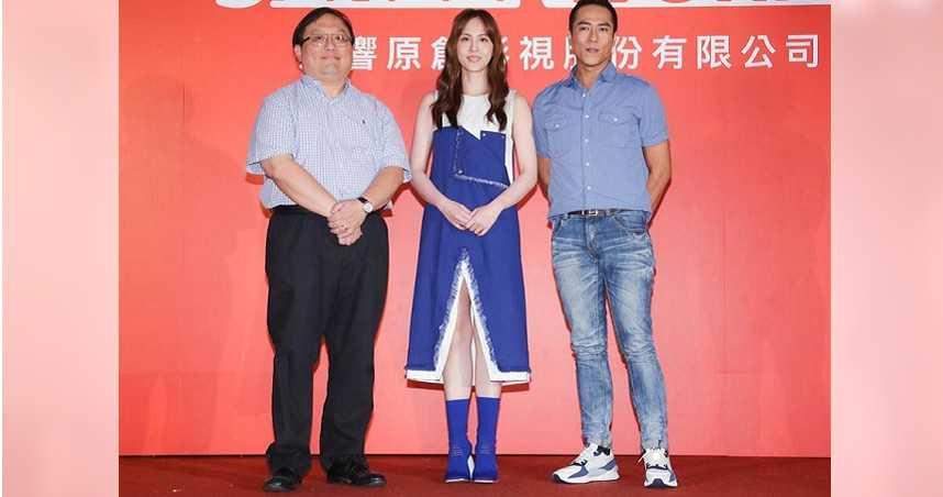 《塵沙惑》劇組昨出席記者會。(圖/中國時報吳松翰攝)