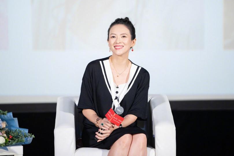章子怡出道20周年,對一路上提攜自己的恩師表示感謝。(圖/翻攝自新浪電影微博)