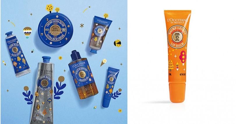 L'OCCITANE夢想乳油木、乳油木蜂蜜護唇膏(限量)12ml/NT400。(圖/品牌提供)