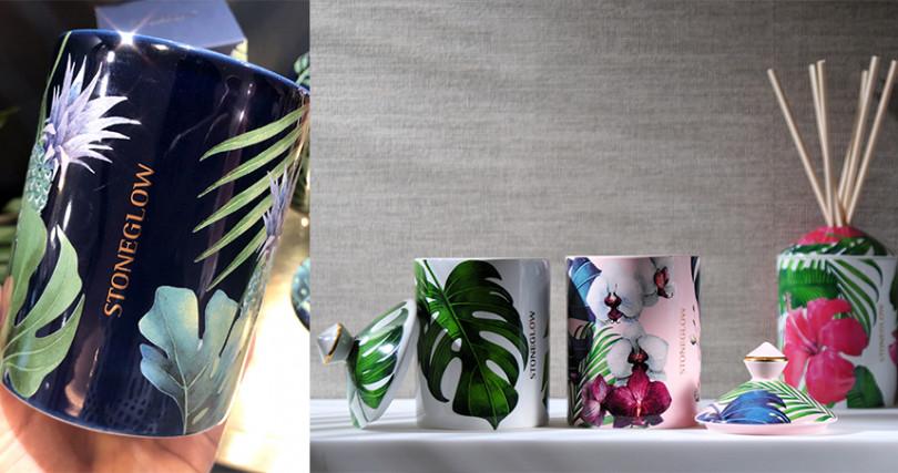 Urban Botanics系列擴香瓶200ml/NT2,500,擴香補充瓶200ml/NT1,100,香氛燭/NT2,500。(圖/彭靖芸攝、品牌提供)