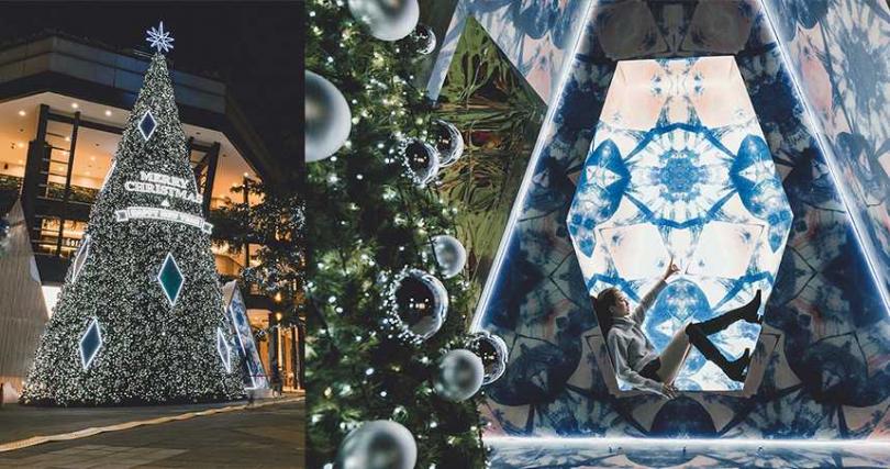 耶誕佈置從即日起至1/3都有得拍。(圖/新光三越Facebook)