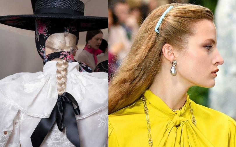 既然都要戴髮飾了,那就選大一點的設計款式,讓別人可以清楚看到。(圖/翻攝網路)