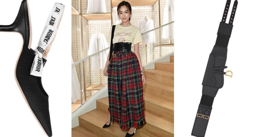 桐谷美玲穿著DIOR 2019秋冬系列。