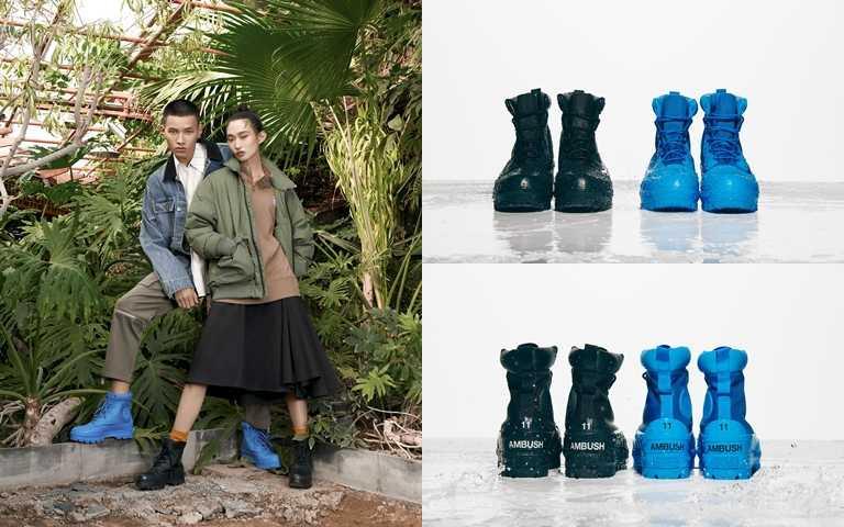 Converse x AMBUSH聯名系列將於11/24於指定店點販售,Chuck 70 Fuzzy鞋款建議售價為NT4,680。(圖/Converse)