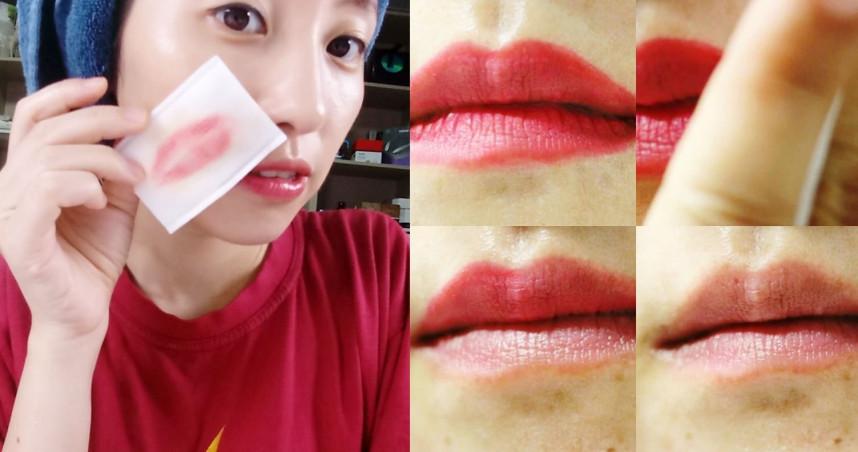 美唇的首要條件就是無死皮&唇色粉嫩。(圖/IG)